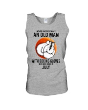 07 boxing old man Unisex Tank tile