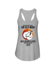 07 boxing old man Ladies Flowy Tank tile
