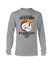 07 boxing old man Long Sleeve Tee tile