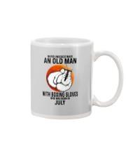 07 boxing old man Mug tile