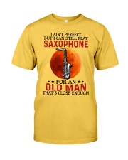 perfect saxophone olm Classic T-Shirt front