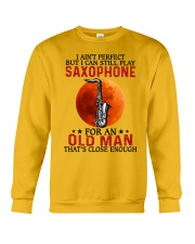 perfect saxophone olm Crewneck Sweatshirt tile