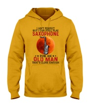 perfect saxophone olm Hooded Sweatshirt tile