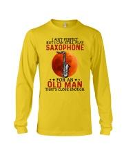 perfect saxophone olm Long Sleeve Tee tile