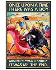 Bullfighting Once Upon Poster 2 24x36 Poster front
