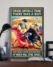 Bullfighting Once Upon Poster 2 24x36 Poster lifestyle-poster-2