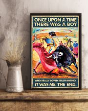 Bullfighting Once Upon Poster 2 24x36 Poster lifestyle-poster-3