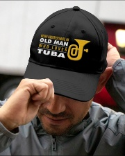 hat tuba old man Embroidered Hat garment-embroidery-hat-lifestyle-01