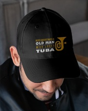 hat tuba old man Embroidered Hat garment-embroidery-hat-lifestyle-02