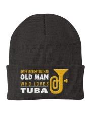 hat tuba old man Knit Beanie thumbnail