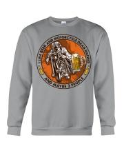 i like beer motorcycle drag racing Crewneck Sweatshirt tile