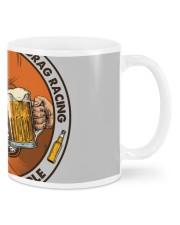 i like beer motorcycle drag racing Mugs tile