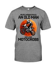 08 hat motocross old man  Premium Fit Mens Tee tile
