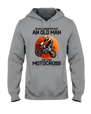 08 hat motocross old man  Hooded Sweatshirt tile