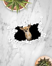 chihuahua Sticker - Single (Horizontal) aos-sticker-single-horizontal-lifestyle-front-06