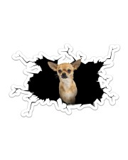 chihuahua Sticker - Single (Horizontal) front