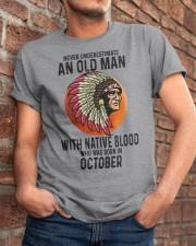 10 native blood old man Classic T-Shirt apparel-classic-tshirt-lifestyle-26