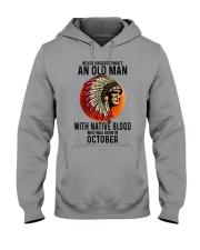 10 native blood old man Hooded Sweatshirt tile