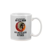 10 native blood old man Mug tile