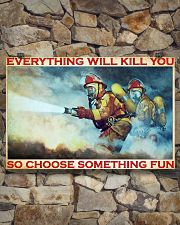 Firefighter evrything fun 36x24 Poster poster-landscape-36x24-lifestyle-15