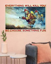 Firefighter evrything fun 36x24 Poster poster-landscape-36x24-lifestyle-18