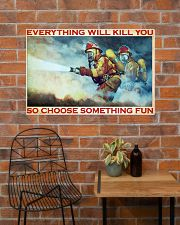 Firefighter evrything fun 36x24 Poster poster-landscape-36x24-lifestyle-20