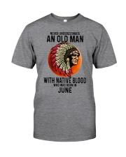 06 native blood old man Classic T-Shirt front