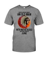06 native blood old man Premium Fit Mens Tee tile
