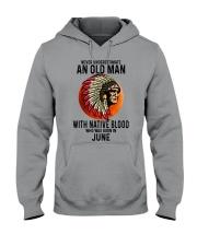 06 native blood old man Hooded Sweatshirt tile