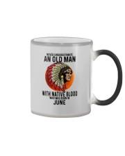 06 native blood old man Color Changing Mug tile
