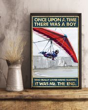 Hang Gliding Once Upon Poster  24x36 Poster lifestyle-poster-3
