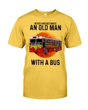 bus old man Classic T-Shirt front