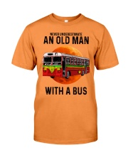 bus old man Premium Fit Mens Tee tile