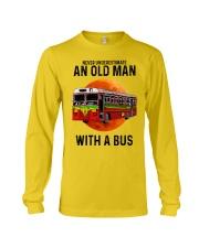 bus old man Long Sleeve Tee tile