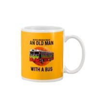 bus old man Mug tile
