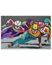 speed skating 250 Piece Puzzle (horizontal) front