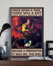 Firefighter Poster 24x36 Poster lifestyle-poster-2