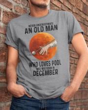 pool old man never 12 Classic T-Shirt apparel-classic-tshirt-lifestyle-26