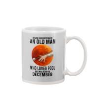 pool old man never 12 Mug tile