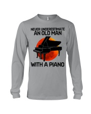 09 hat piano old man Long Sleeve Tee tile