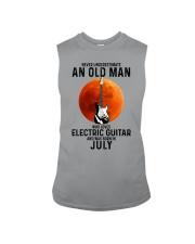 7 Electric guitar old man Sleeveless Tee tile