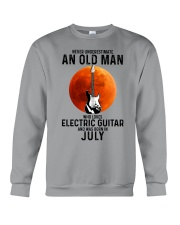 7 Electric guitar old man Crewneck Sweatshirt tile