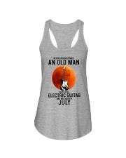 7 Electric guitar old man Ladies Flowy Tank tile