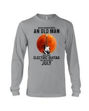 7 Electric guitar old man Long Sleeve Tee tile