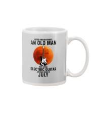 7 Electric guitar old man Mug tile