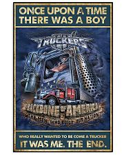 Trucker Once Upon Poster 2  24x36 Poster front