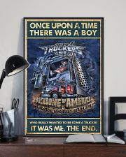 Trucker Once Upon Poster 2  24x36 Poster lifestyle-poster-2