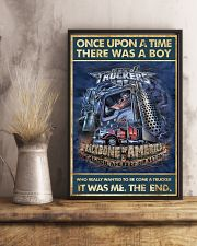 Trucker Once Upon Poster 2  24x36 Poster lifestyle-poster-3