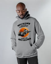most old men drag racing Hooded Sweatshirt apparel-hooded-sweatshirt-lifestyle-front-09