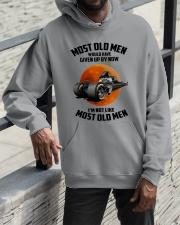 most old men drag racing Hooded Sweatshirt apparel-hooded-sweatshirt-lifestyle-front-11